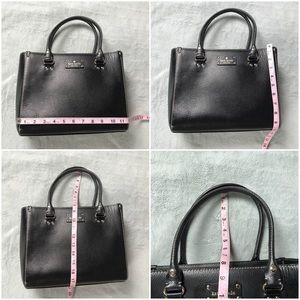 kate spade Bags - Kate Spade Wellesley Quinn Black Leather Satchel
